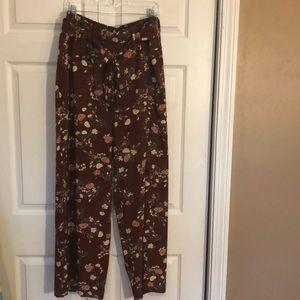 Torrid crepe tie-front wide leg pants